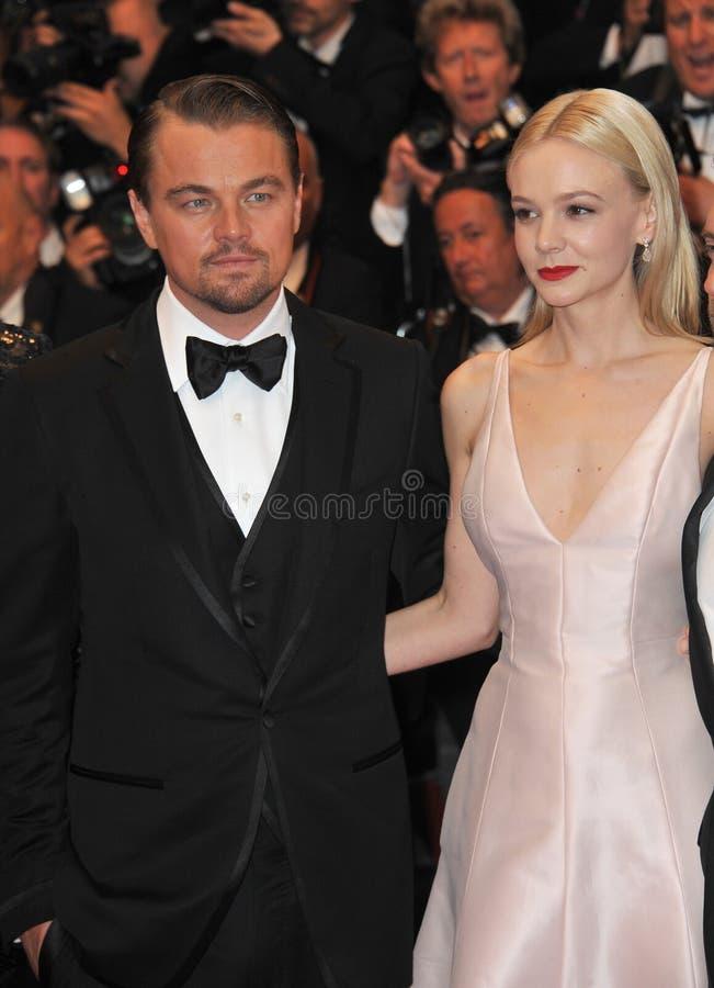 Carey Mulligan, Leonardo DiCaprio zdjęcie royalty free