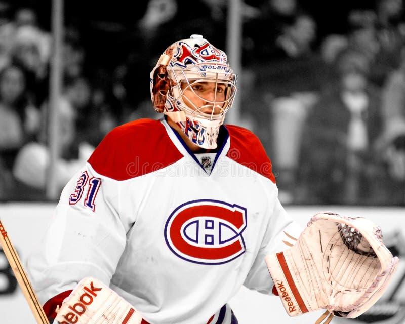Carey Price Montreal Canadiens fotos de archivo