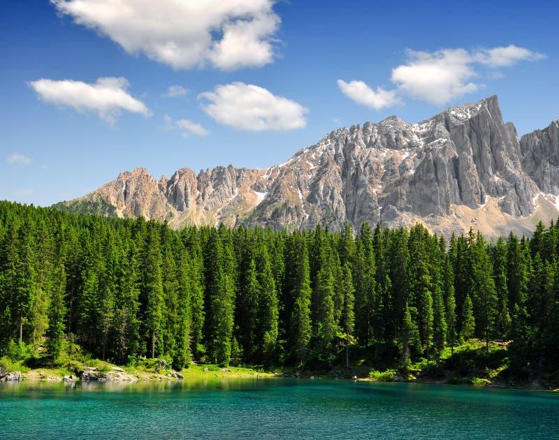 carezzaitaly lake royaltyfri fotografi
