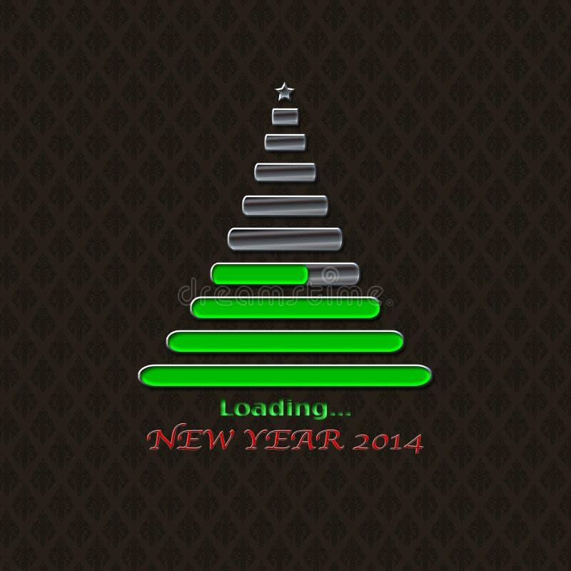 Carga de 2014. stock de ilustración