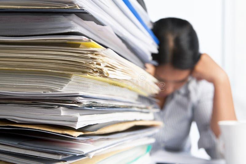 Carga de trabalho pesada imagem de stock royalty free
