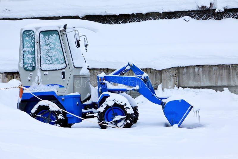 Cargador de la nieve fotos de archivo libres de regalías