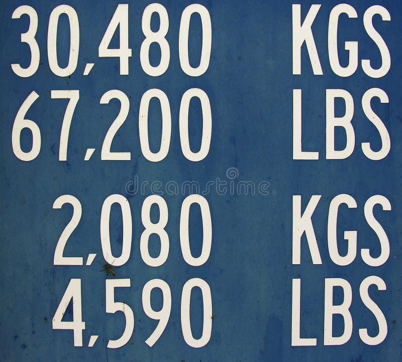Cargaison photographie stock
