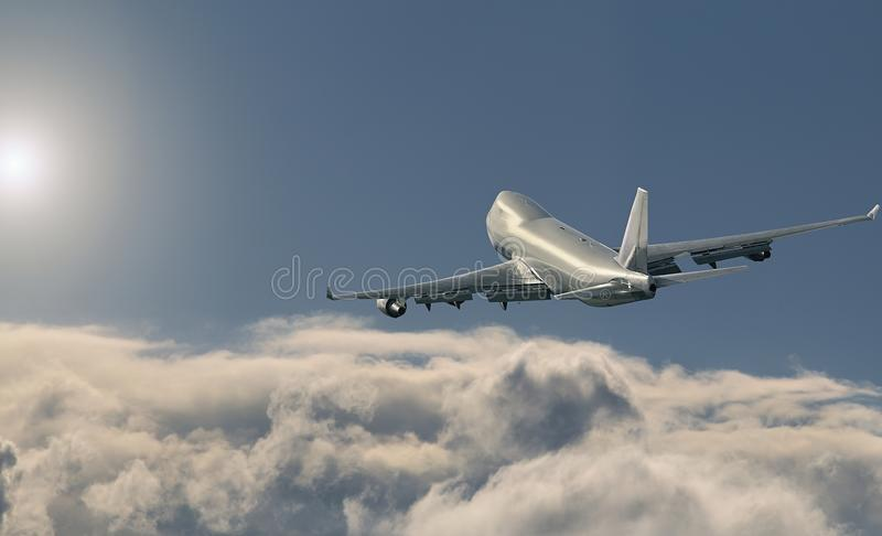 CARGAISON de Boeing 747 photo stock