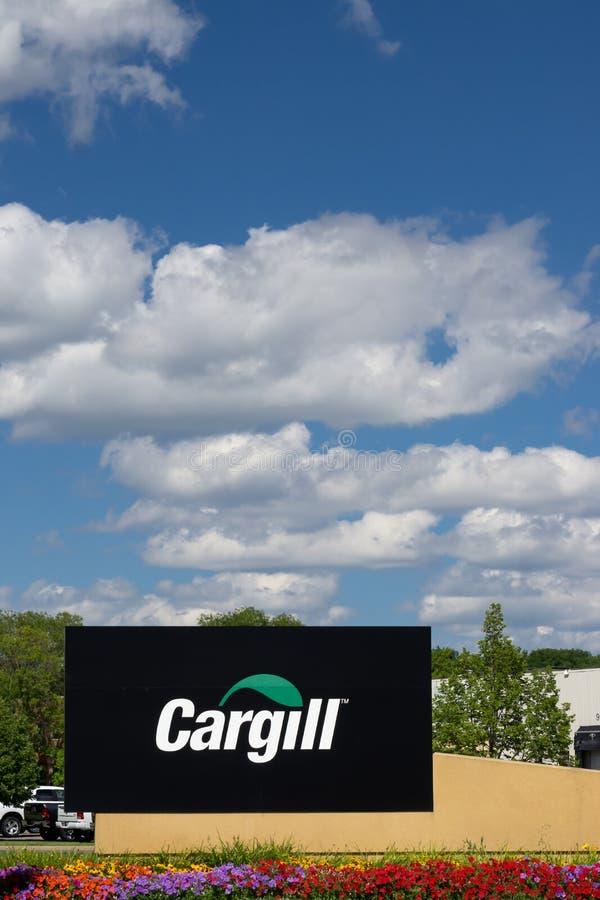Cargill Collectief Hoofdkwartier en Teken royalty-vrije stock foto