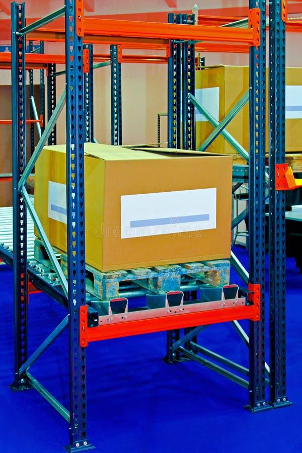 Cargo box royalty free stock photography
