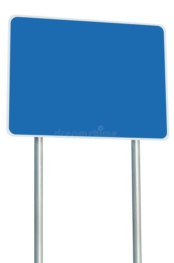Cargo branco de Polo do quadro indicador do letreiro da borda da estrada do quadro do espaço da cópia da perspectiva do sinal de  imagens de stock royalty free