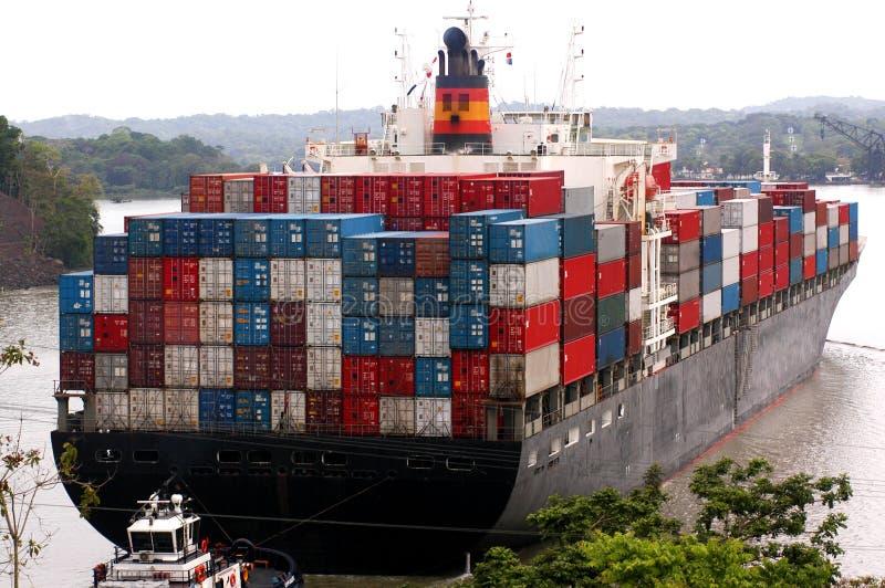 Cargo chargé photographie stock libre de droits