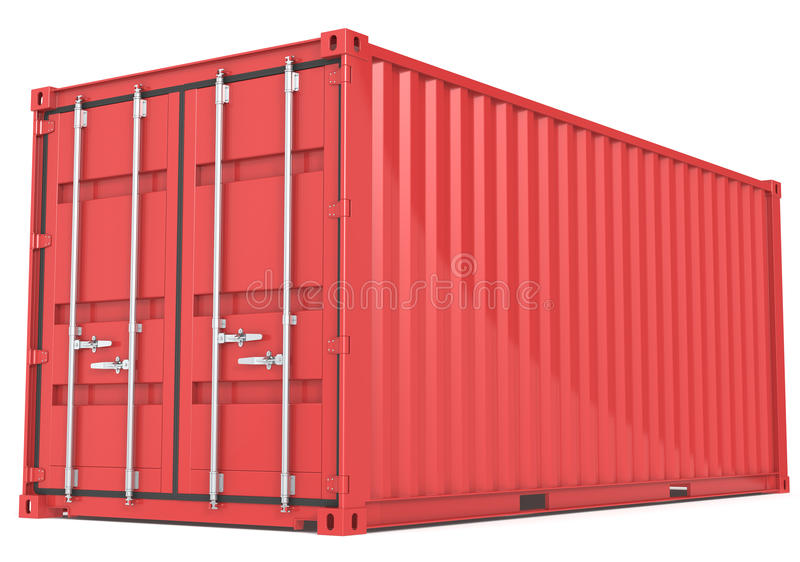 Download Cargo Container. Stock Photo - Image: 25605620