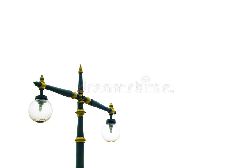 Cargo da lâmpada isolado no fundo branco fotos de stock
