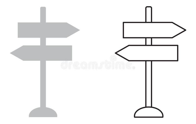 Cargo de sinal ilustração do vetor
