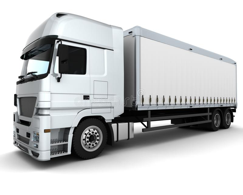 Download Cargo Delivery Vehicle stock illustration. Image of lorry - 19016912