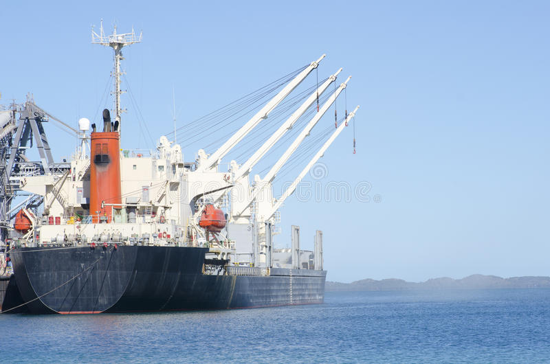 Download Cargo Freight Ship At Jetty Stock Photo - Image: 23602314
