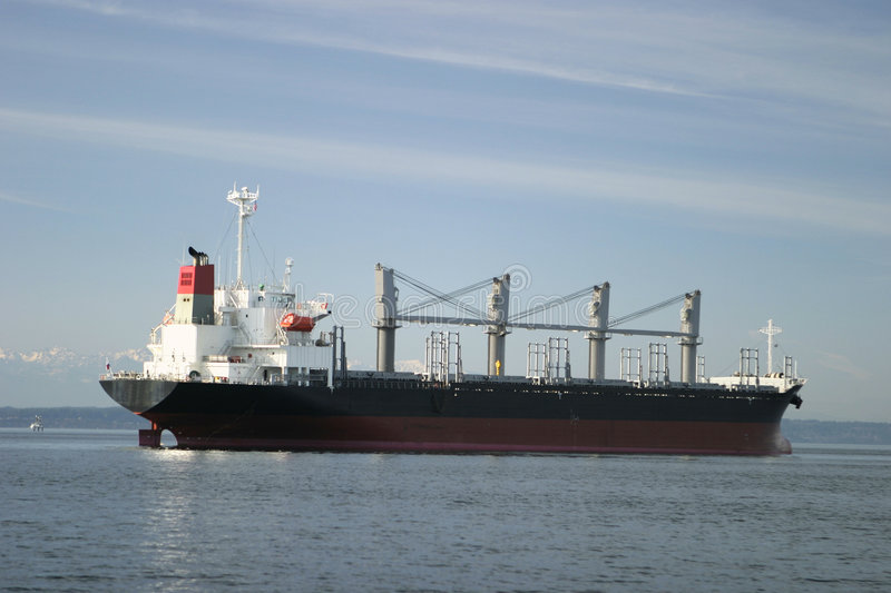Cargo Freighter stock images