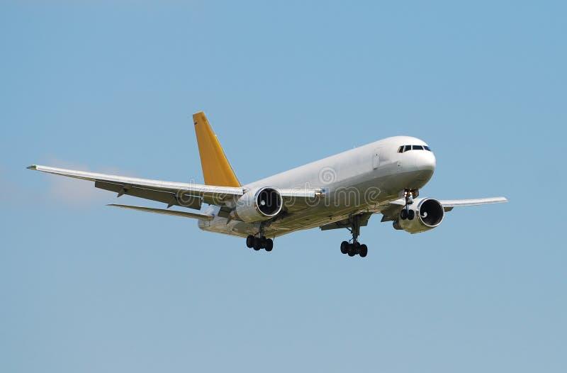 Cargo jet airplane royalty free stock photo
