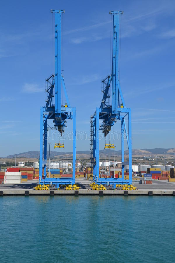 Cargo Port Editorial Photo