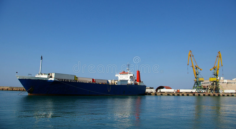 Download Cargo Port Of Sochi Royalty Free Stock Image - Image: 5055986