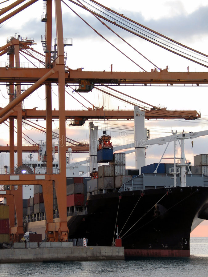 Cargo series 4 royalty free stock image