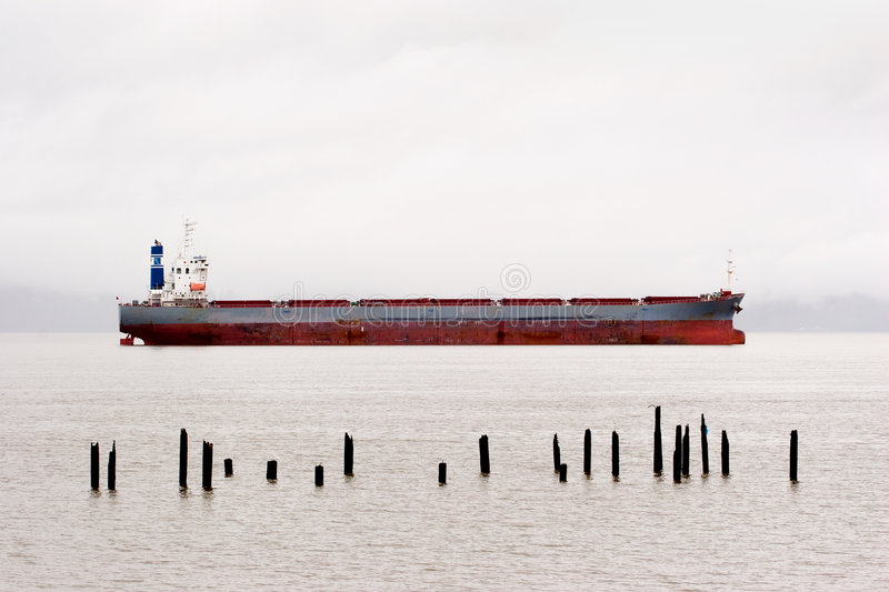 Download Cargo Ship, Columbia River stock photo. Image of river - 465166