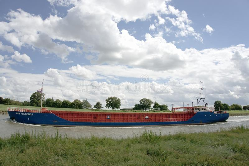 Cargo Ship H&S Prudence stock photography