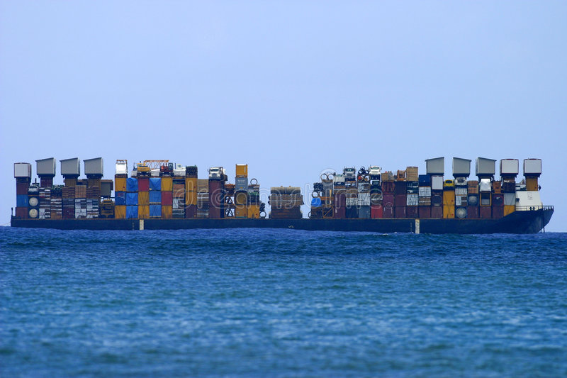 Download Cargo Shipping Boat stock image. Image of moving, transportation - 829615