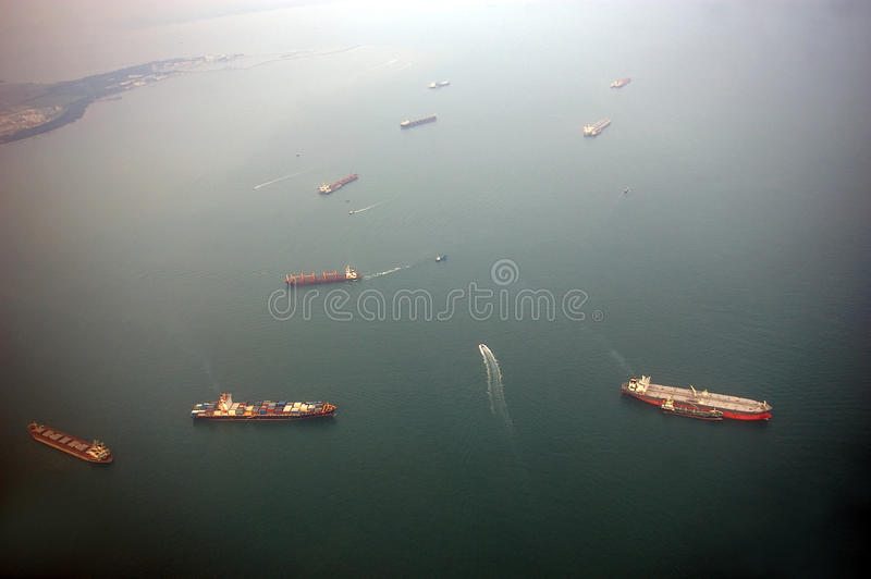 Download Cargo Ships stock photo. Image of east, merchant, environment - 16258050