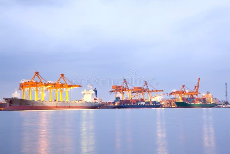 Cargo Ships stock photography