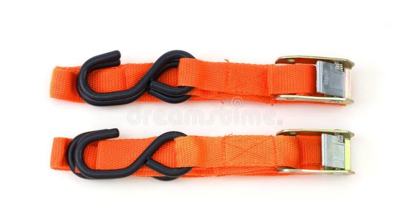 Cargo straps royalty free stock image