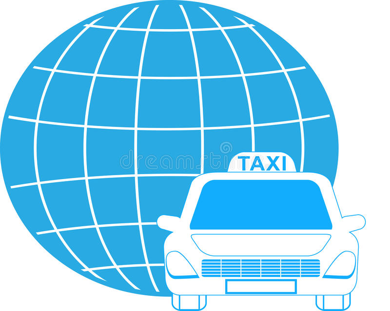 Download Cargo Symbol With Planet And Cab Stock Vector - Image: 25344678
