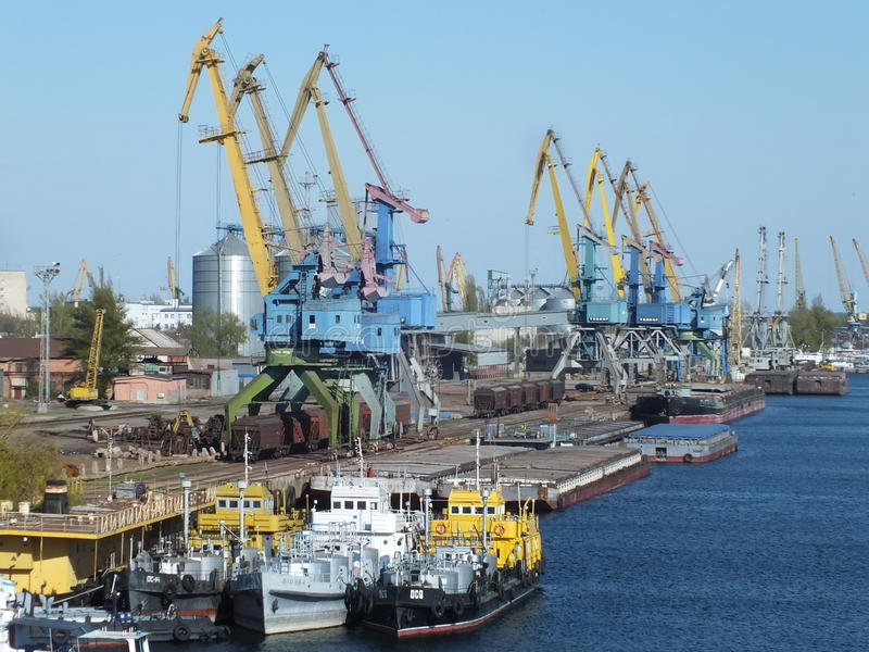 Cargo terminal stock images