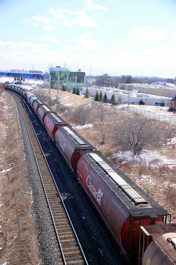 Cargo Train stock image