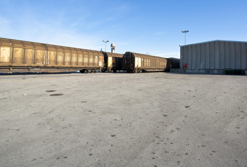 Download Cargo train stock photo. Image of deliver, rail, international - 26768494