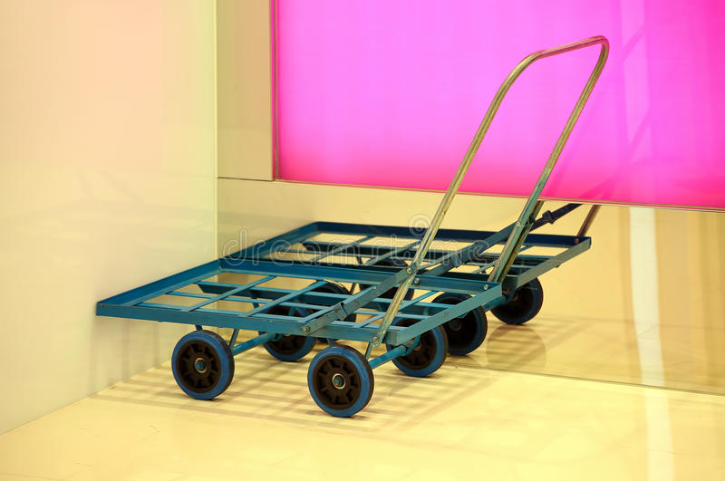Download Cargo trolley stock photo. Image of metal, empty, cart - 37555682