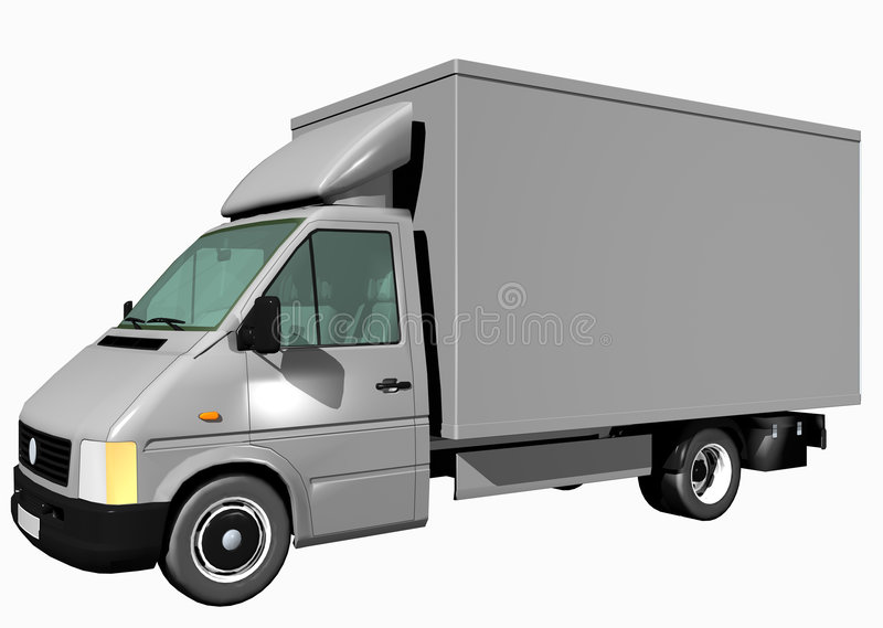 Download Cargo Truck stock illustration. Image of transport, relocated - 927187