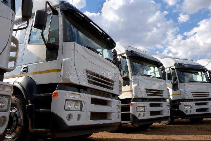 Cargo Trucks royalty free stock image