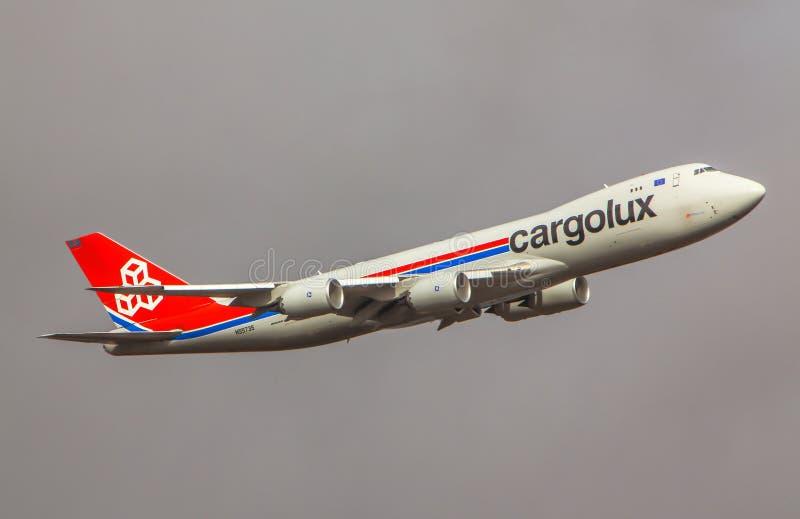Cargolux Boeing 747 obrazy stock