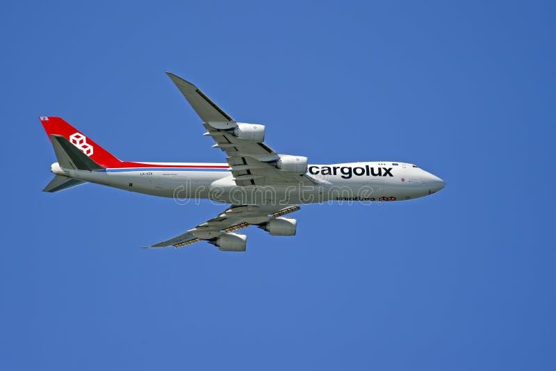 Cargolux linie lotnicze Międzynarodowy Boeing 747-8F zdjęcia stock