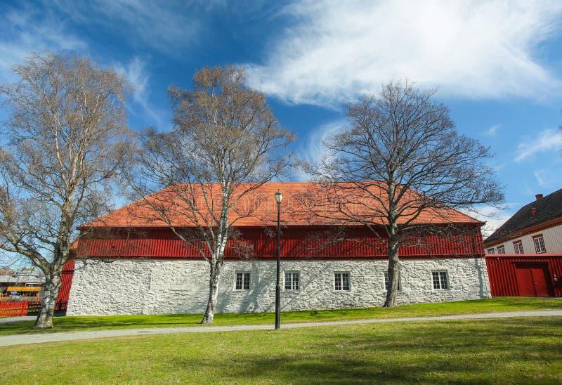Cargue Gaard, Strondheim, Noruega imagen de archivo libre de regalías