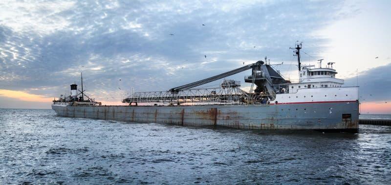 Carguero de Great Lakes fotografía de archivo