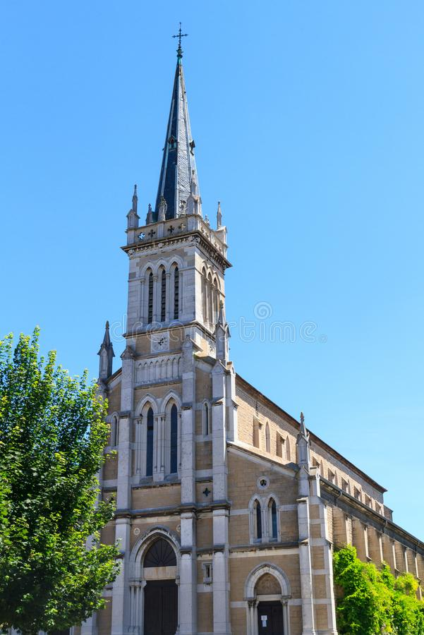 Carholic kościół w Macon, Francja obrazy stock