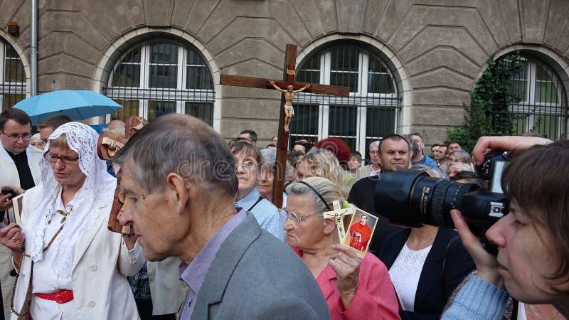 Carholics w Wrocławskim, Polska obraz stock