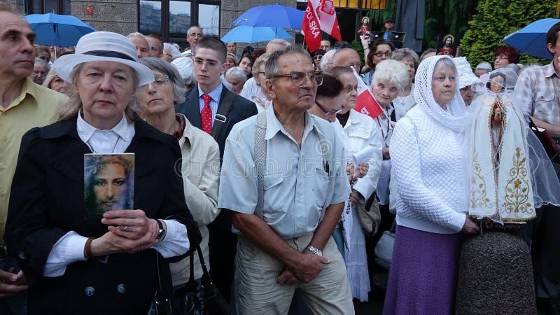 Carholics w Wrocławskim, Polska zdjęcia royalty free