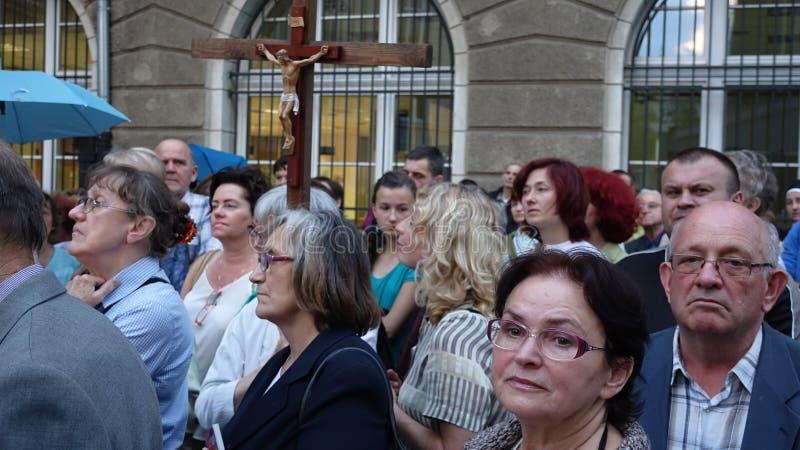 Carholics w Wrocławskim, Polska fotografia royalty free