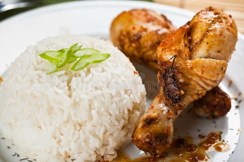 Cari de poulet image stock