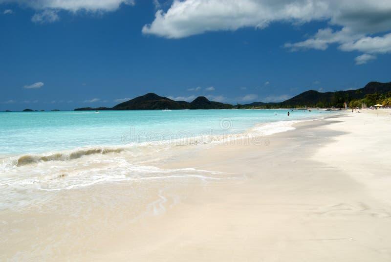 Download Caribbean beach stock image. Image of sand, beautiful - 24616785