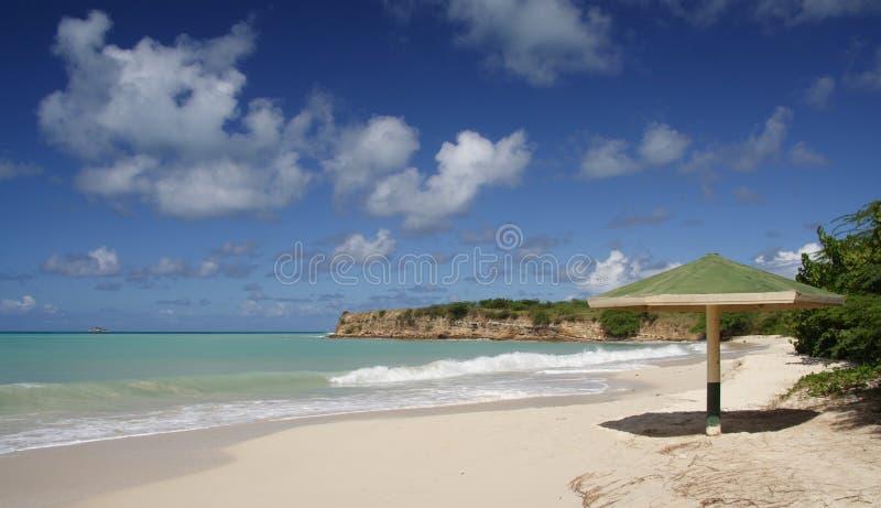 Download Caribbean Beach stock photo. Image of dream, plant, rock - 909650