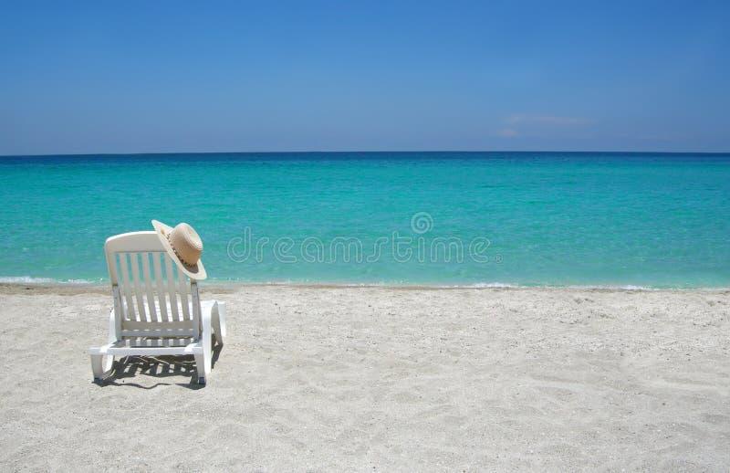 Download Caribbean beach chair stock photo. Image of seashore, ocean - 4359776