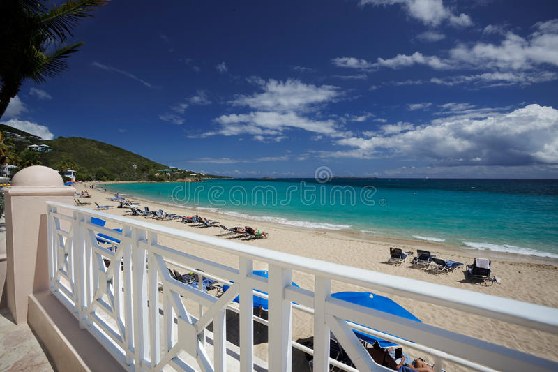 Download Caribbean Beach From Street Stock Photo - Image: 21366372
