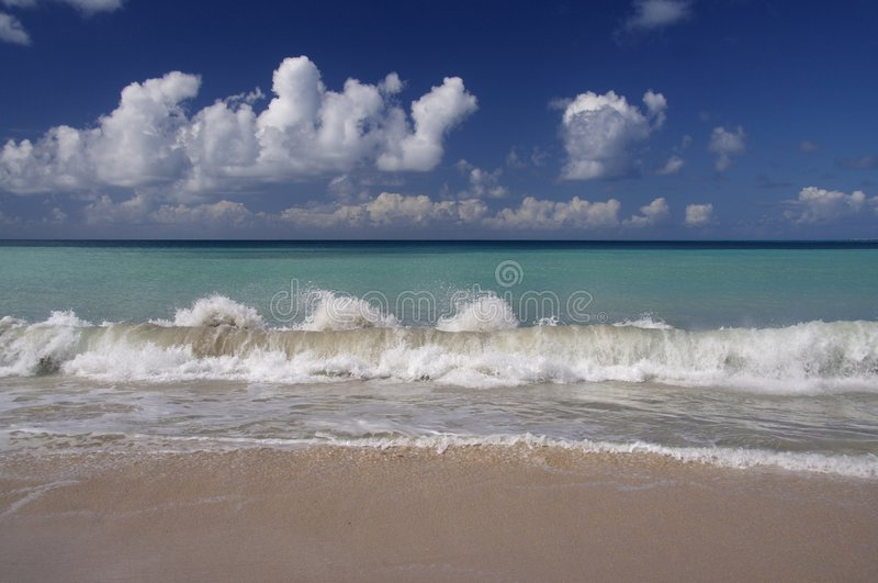 Download Caribbean Blue Stock Image - Image: 909601