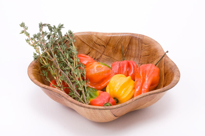 Download Caribbean Chillies N Herbs Stock Photography - Image: 12374662